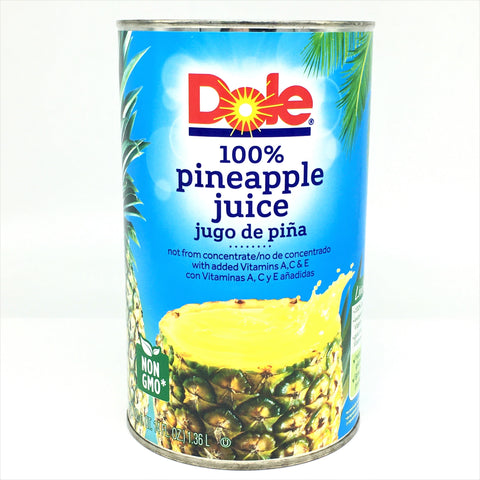 Dole 100% Pineapple Juice 46oz/ 1.36L