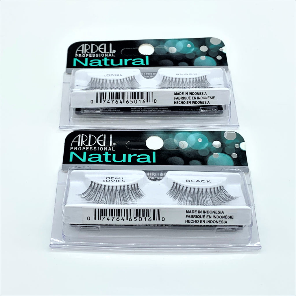 Ardell Natural Lashes -Demi Luvies Black, 2 Pair