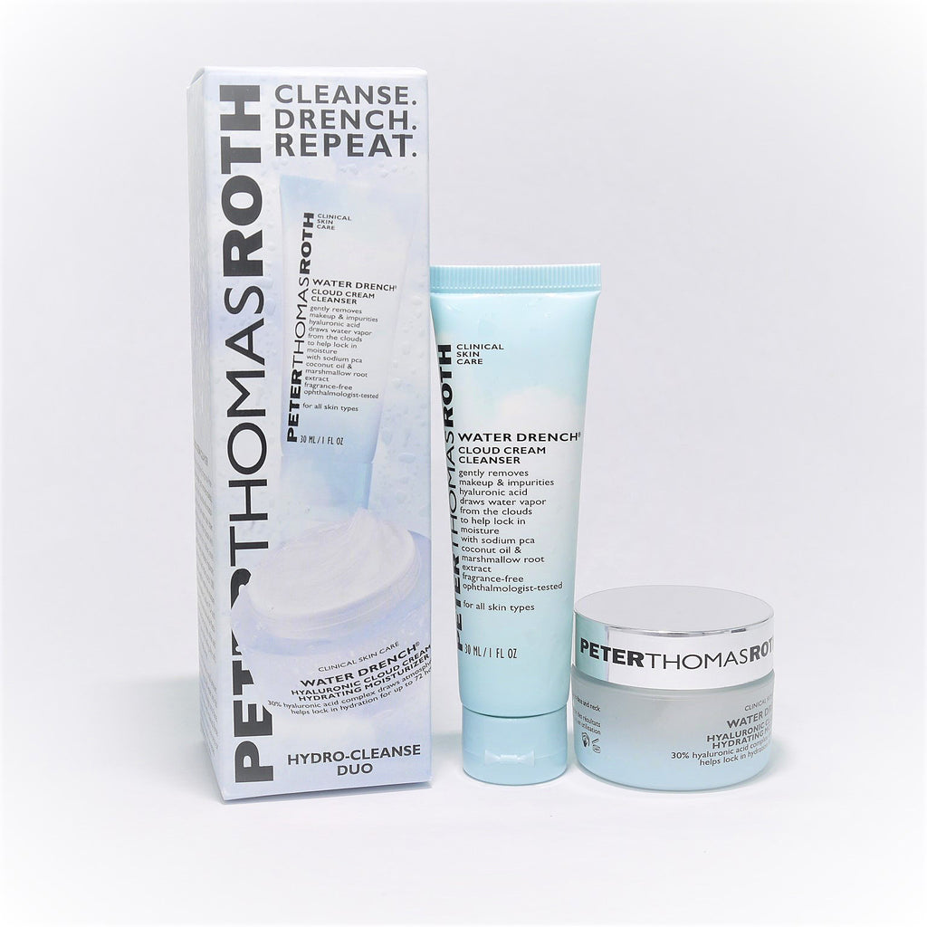 Peter Thomas Roth Water Drench Cleanse. Drench. Repeat. Hydro-Cleanse Duo - Psyduckonline