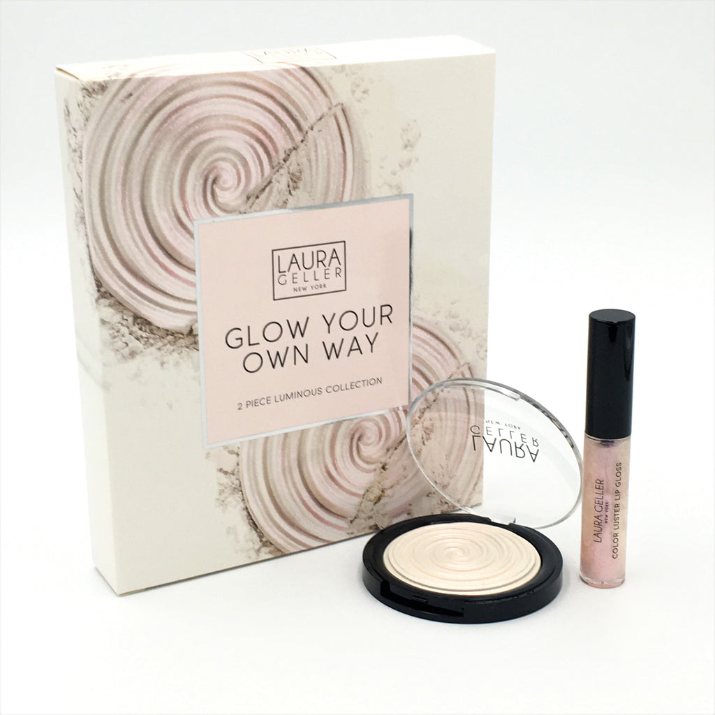 Laura Geller New York Glow Your Own Way 2 Piece Luminous Kit -Diamond Dust