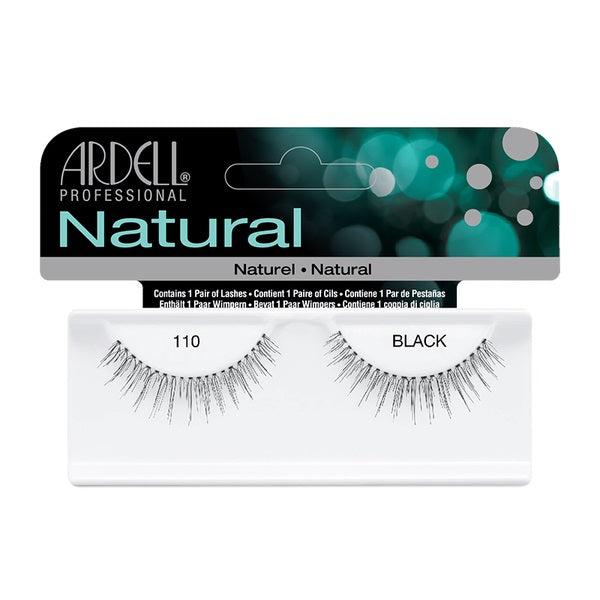 Ardell Natural Lashes -110 Balck, 1 Pair - Psyduckonline