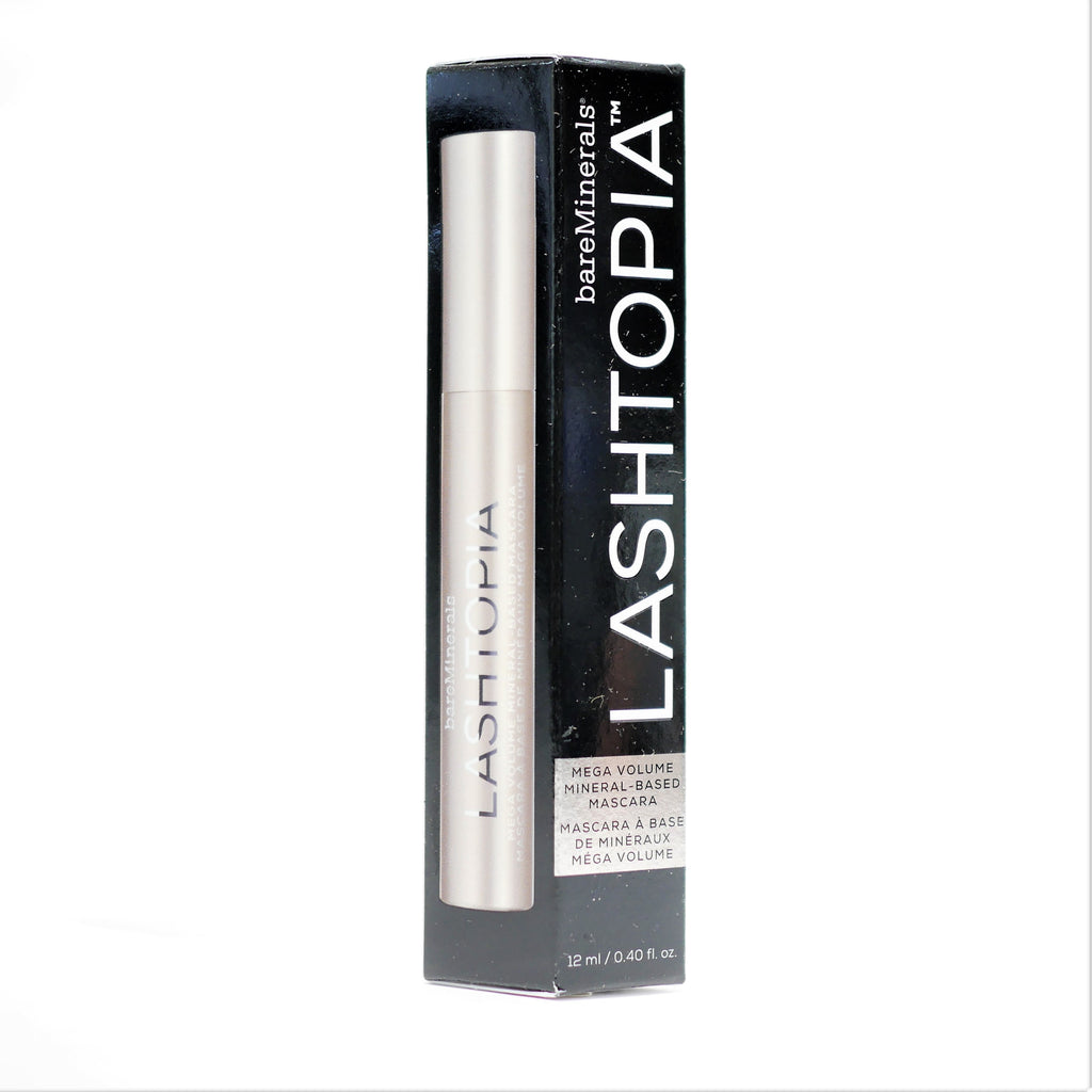 Bare Minerals Lashtopia Ultimate Black Mega Volume Mascara , 12 ml / 40 oz - Psyduckonline