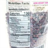 WEL-PAC Azuki Red Beans With Resealable Bag 12oz
