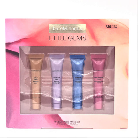 bareMinerals LITTLE GEMS ® MINI METALLIC MASK SET, limited edition $40 Value - Psyduckonline
