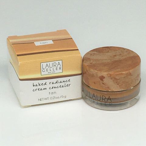 Laura Geller New York Baked Radiance Cream Concealer --Tan 0.21oz/ 6g