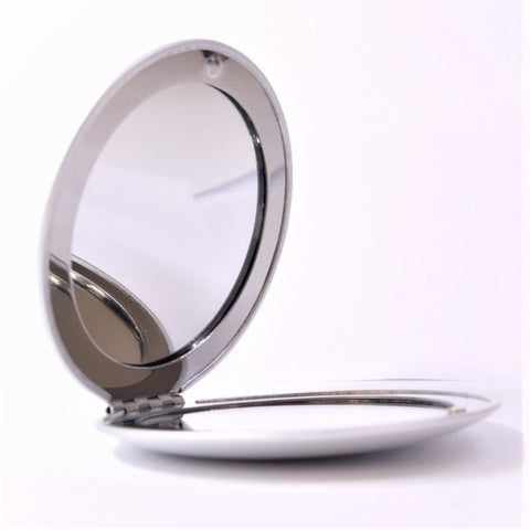 Pevonia Round Compact Makeup Mirror, Set of 2