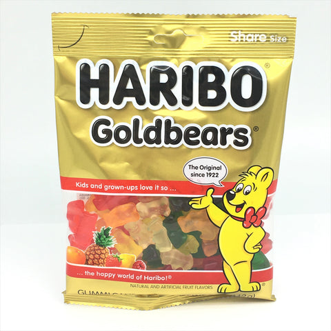 Haribo Goldbears Gummi Candy 5 oz/ 142g
