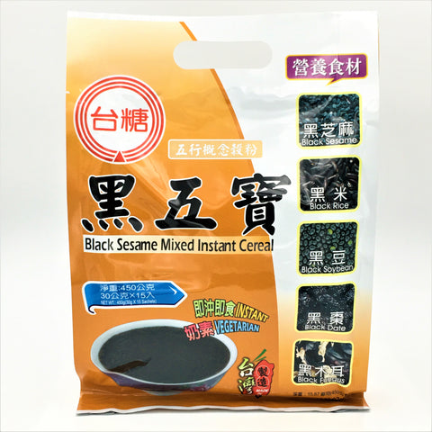 Taitan Black Sesame Mixed Instant Cereal 30gX15bags(450g)
