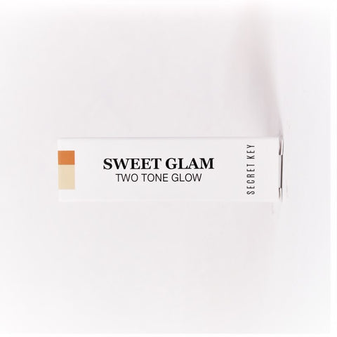 Secret Key Sweet Glam Twotone Glow , Juicy Orange , 3.8 g - Psyduckonline