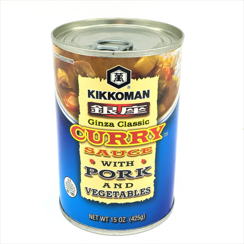 Kikkoman Ginza Classic Curry Sauce With Pork And Vegetables 15oz