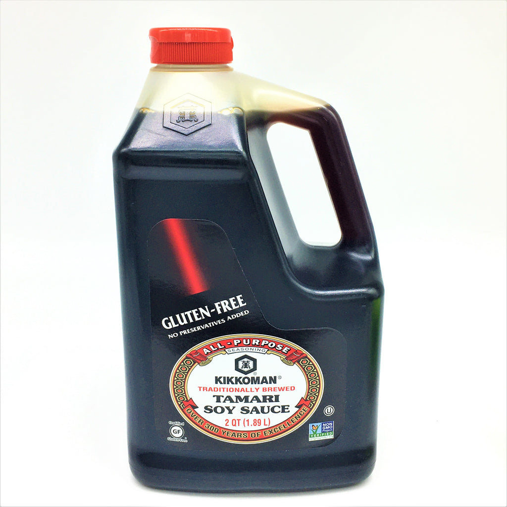 Kikkoman Gluten Free Traditionally Brewed Tamari Soy Sauce 1.89L