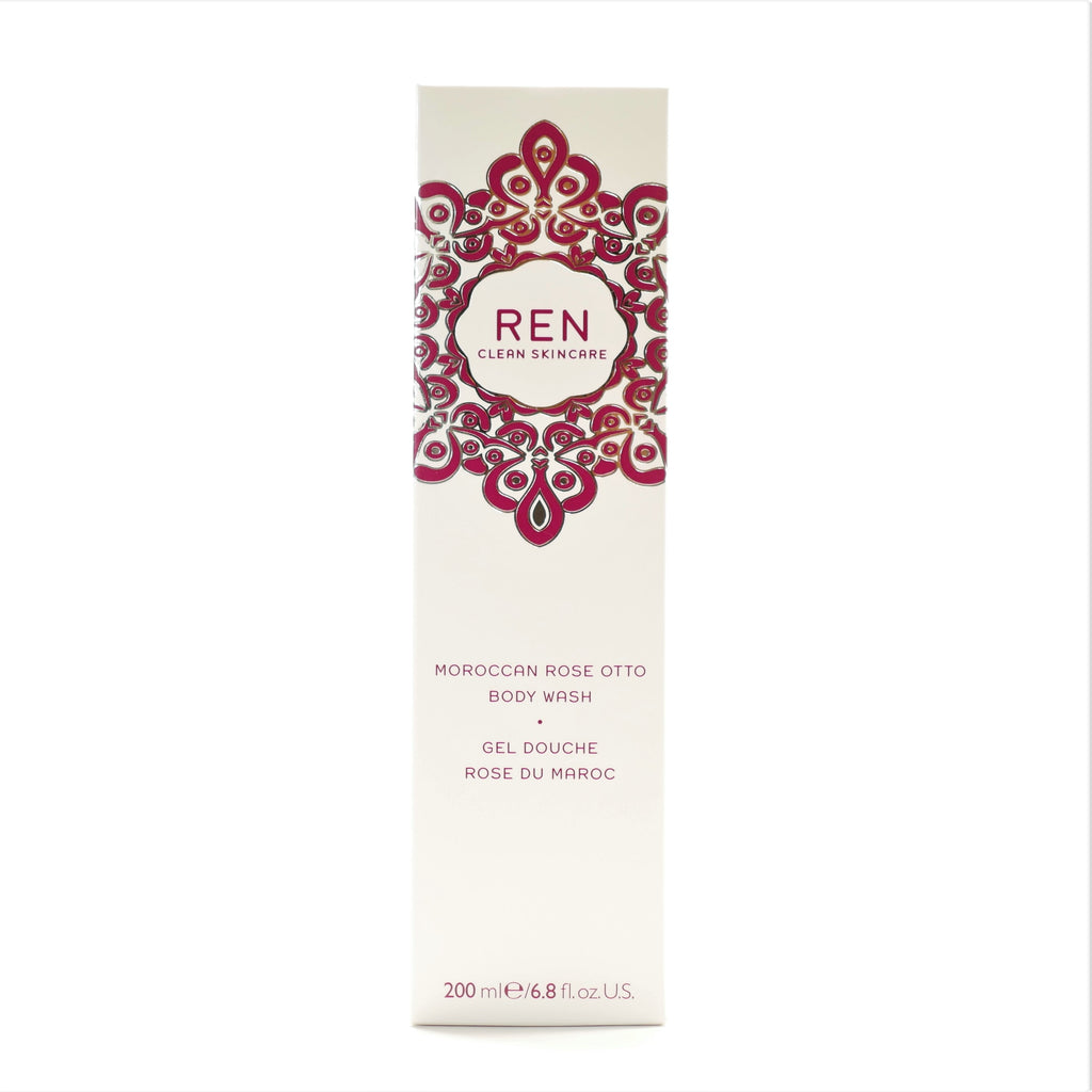 REN Clean Skincare Moroccan Rose Otto Body Wash , 200 ml / 6.8 oz - Psyduckonline