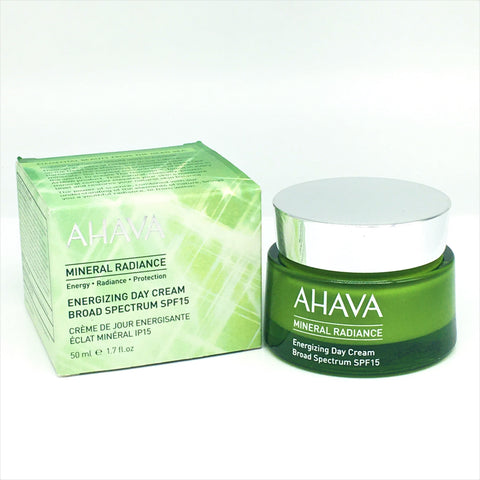 AHAVA Mineral Radiance Energizing Day Cream SPF 15, 50ml / 1.7 oz