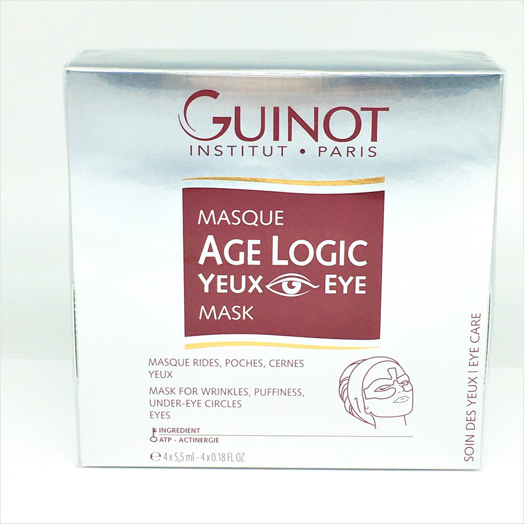 Guinot Masque Age Logic Yeux Eye Mask 4x5.5ml/ 4x0.18 oz