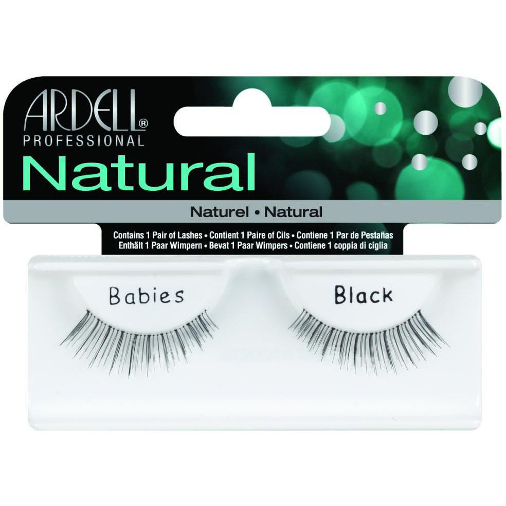 Ardell Natural Lashes - Babies Balck, 1 Pair - Psyduckonline