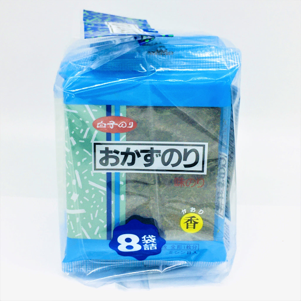 Shirako Okazu Nori , Seasoned Roasted Seaweed 8 PC /2.8 g