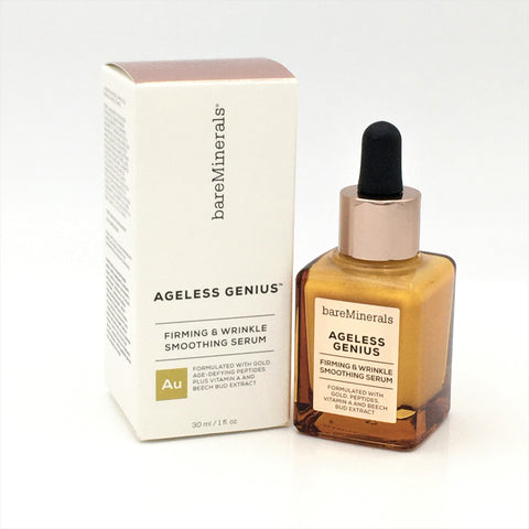 bareMinerals Ageless Genius Firming & Wrinkle Smoothing Serum 30ml/ 1oz