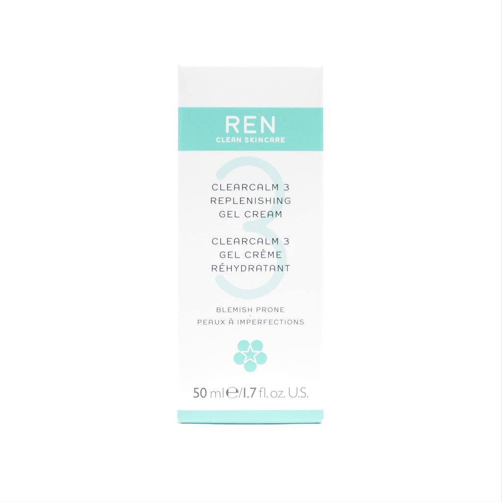 REN Clean Skincare Clearcalm 3 Replenishing Gel Cream , 50 ml / 1.7 oz - Psyduckonline