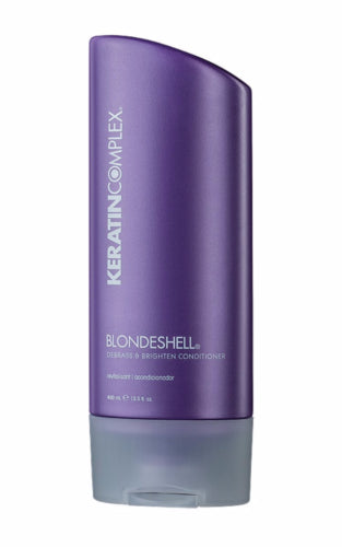 Keratin Complex Blondshell Debrass & Brighten Conditioner, 400 ml / 13.5 fl oz - Psyduckonline