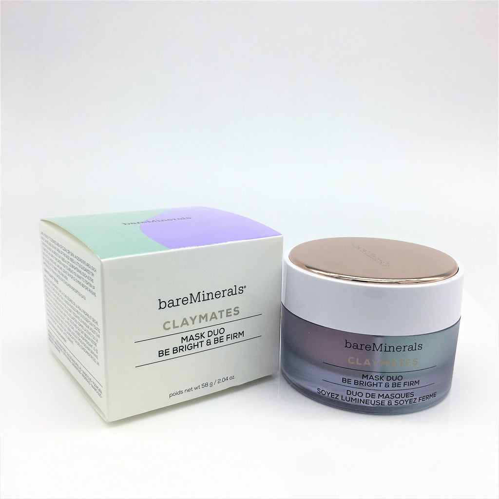 bareMinerals Claymates Be Bright & Be Firm Mask Duo 58g / 2.04 oz