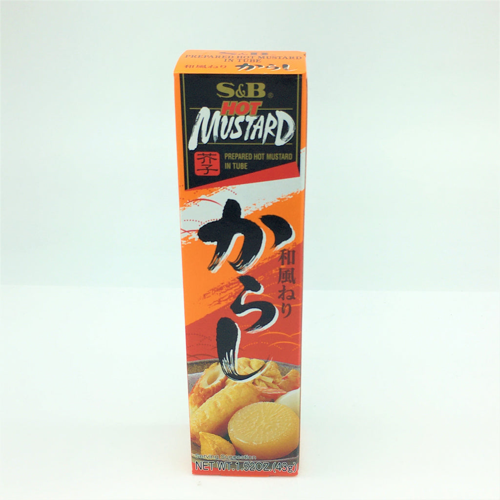 S&B Japanese Prepared Hot Mustard Tube 43 g