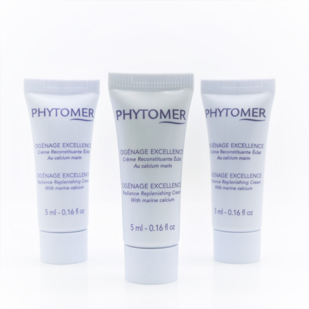 Phytomer Ogenage Excellence Radiance Replenishing Cream (Travel Size 3x of 5 ml)