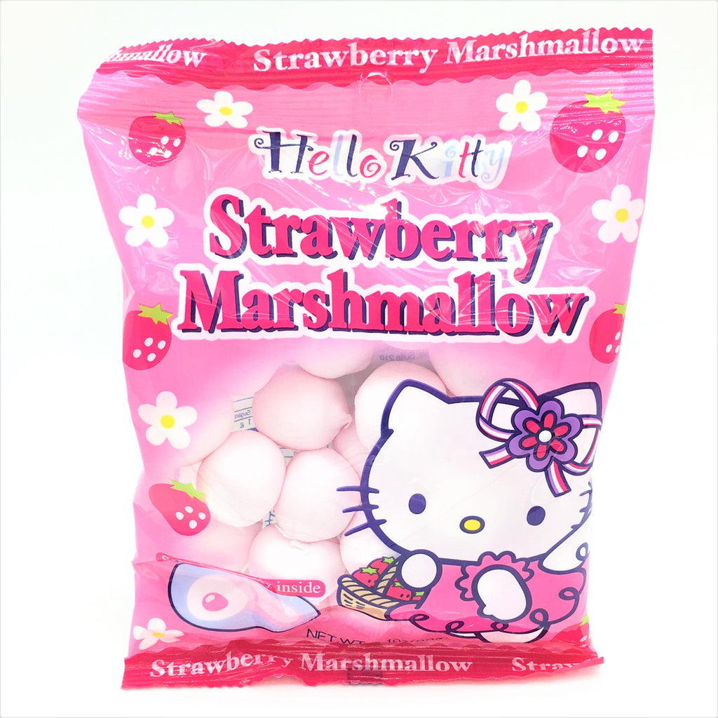 Hello Kitty Marshmallow - Strawberry- Strawberry Jelly inside 90 g