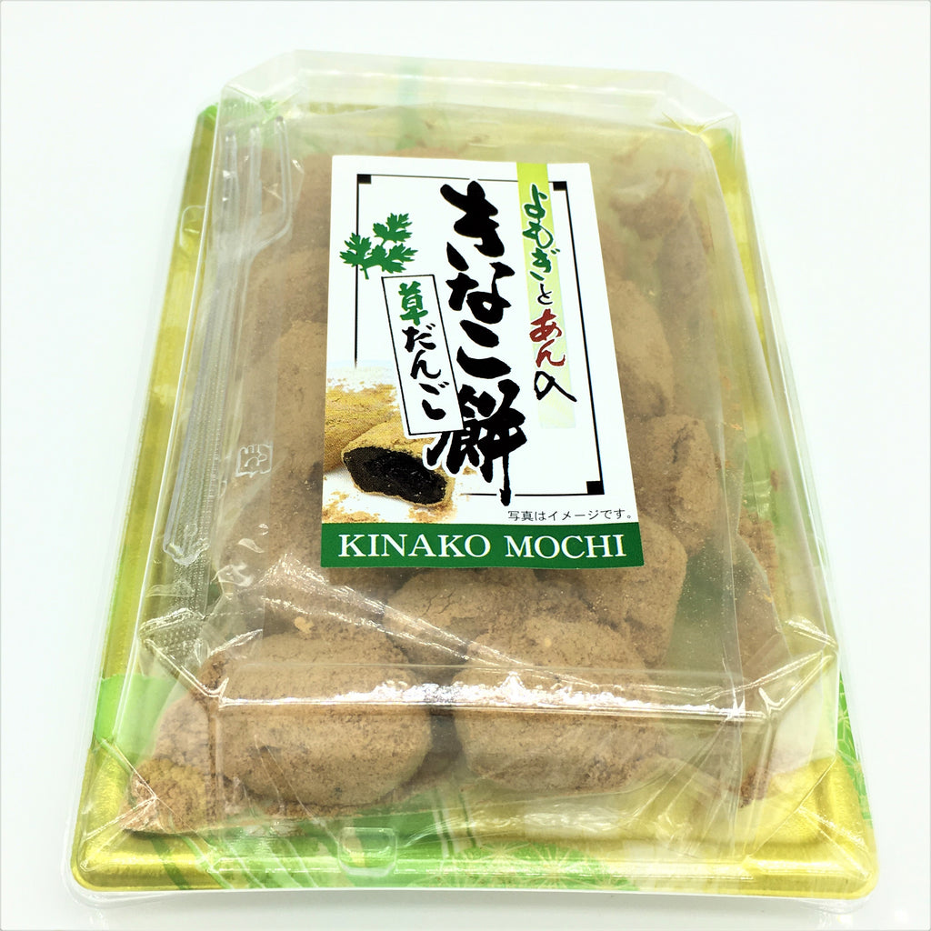 Seiki Kinako Mochi Rice Cakes (Red Bean with Sweet Toasted Soybean Flour), 260 g