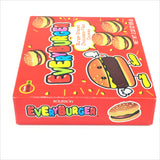 Bourbon Every Burger-Shaped Chocolate Filled Cookies From Japan 2.32 oz