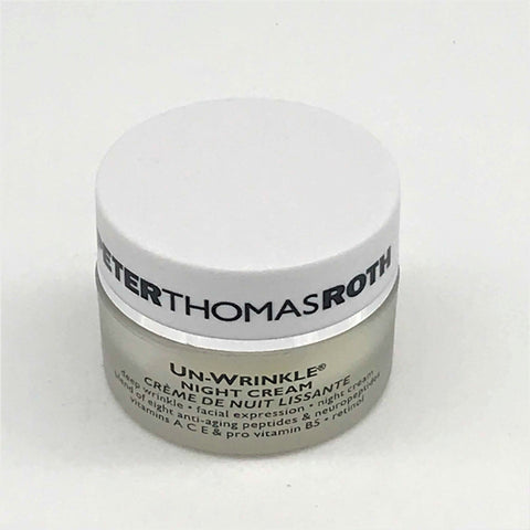 Peter Thomas Roth Un-Wrinkle Night Cream, 8mL [Travel Size] - Psyduckonline