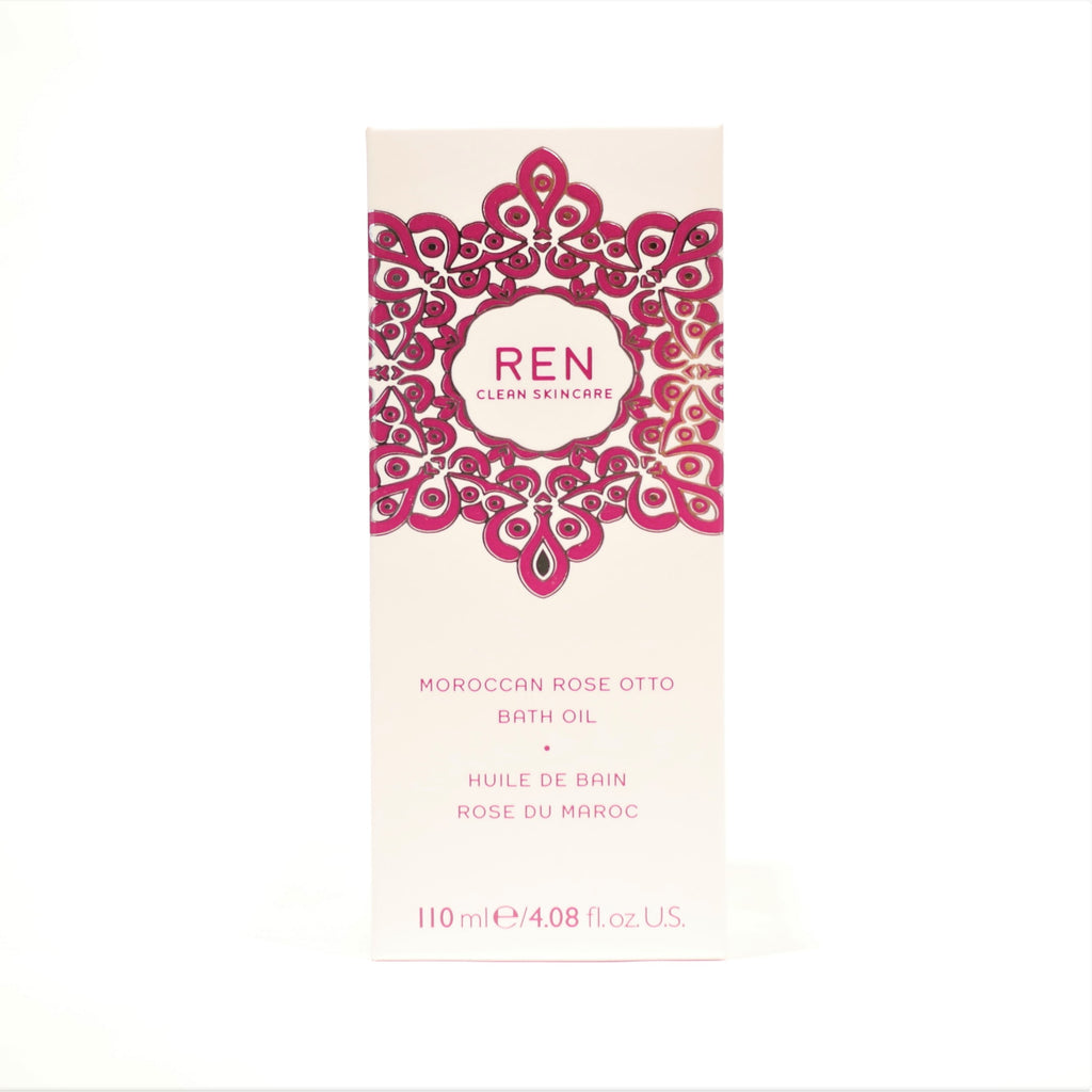 REN Clear Skincare Moroccan Rose Otto Bath Oil , 110 ml / 4.08 oz - Psyduckonline