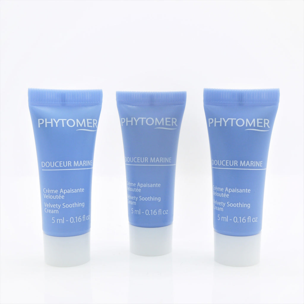 Phytomer Douceur Marine Velvety Soothing Cream (Travel Size 3x of 5 ml)