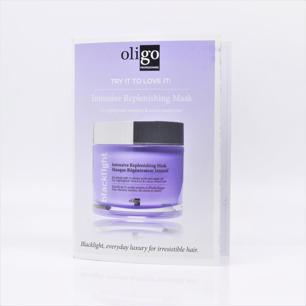 Oligo Professionnel Blacklight Intensive Replenshing Mask, 8 ml (Travel Size) - Psyduckonline