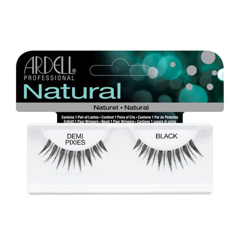 Ardell Natural Lashes -Demi Pixies Black, 1 Pair - Psyduckonline