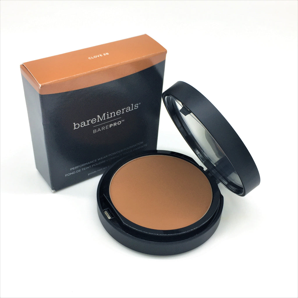 bareMinerals BarePro Performance Wear Powder Foundation, CLOVE 28, 10 g/0.34 oz - Psyduckonline