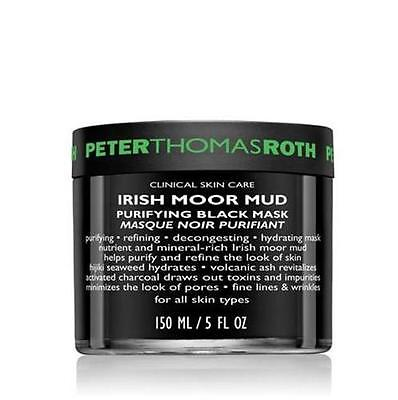 Peter Thomas Roth Irish Moor Mud Purifying Black Mask, 150 ml / 5 fl oz - Psyduckonline