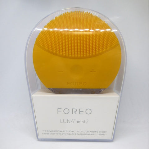Foreo Luna mini 2 Cool & Customizable Face Brush - Sunflower Yellow