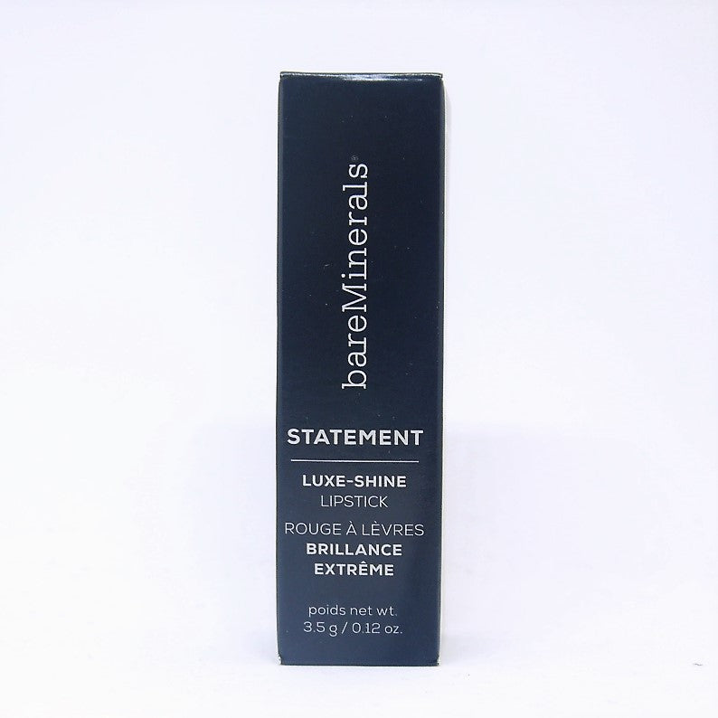 bareMinerals Statement Luxe-Shine Lip Stick , Alpha , 3.5 g / 0.12 oz - Psyduckonline