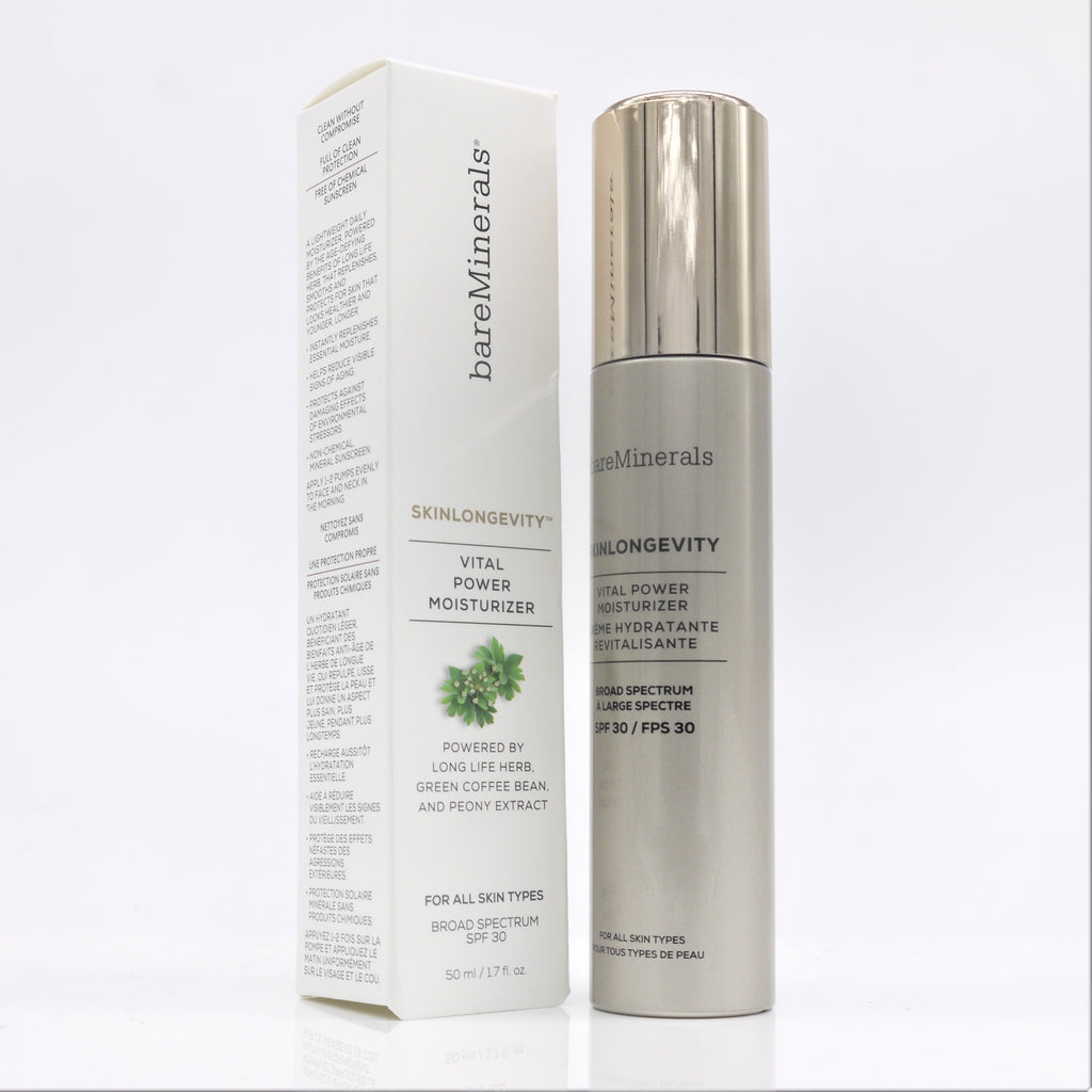bareMinerals Skinlongevity Vital Power Moisturizer 50 ml - Psyduckonline