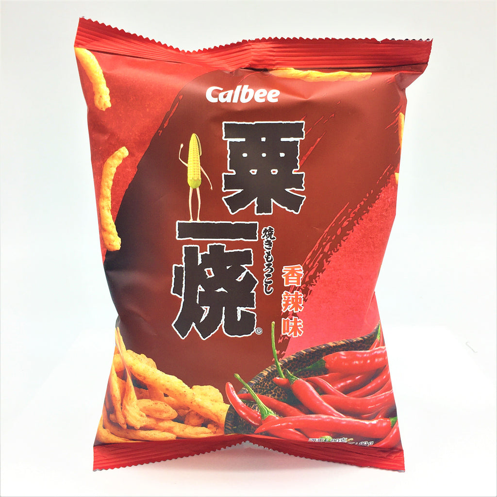 Calbee Grill - A - Corn -Hot & Spicy Flavor 80 g