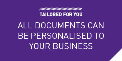 Personalised to your business