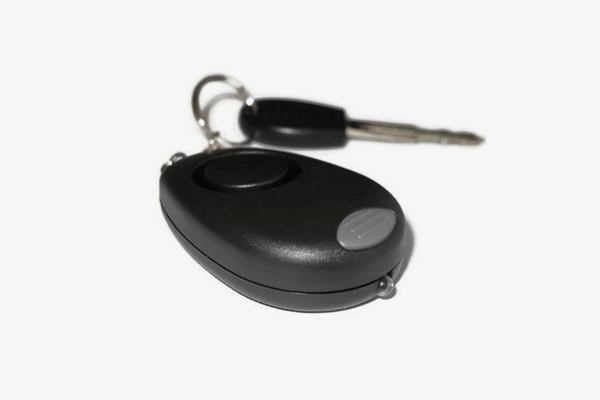 Personal Alarm LED Flashlight Keychain