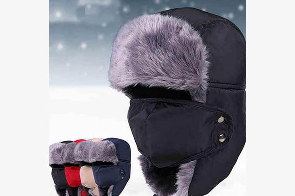 Windproof Winter Snow Cap - Phonebibi