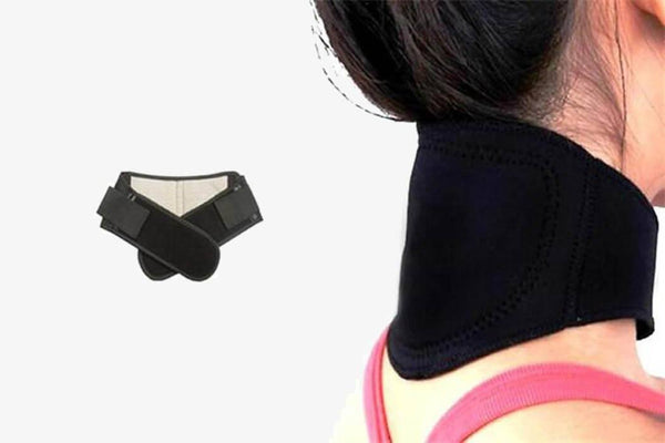 Magnetic Self-Heating Thermal Neck Pad