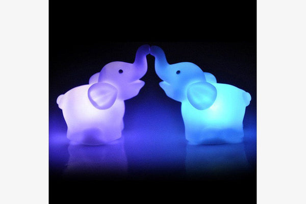 Elephant Night Light Lamp - Phonebibi