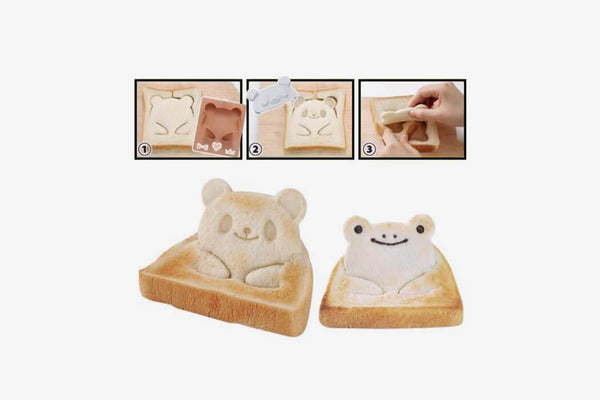 Ultimate 3-in-1 Animal Sandwich Cutters