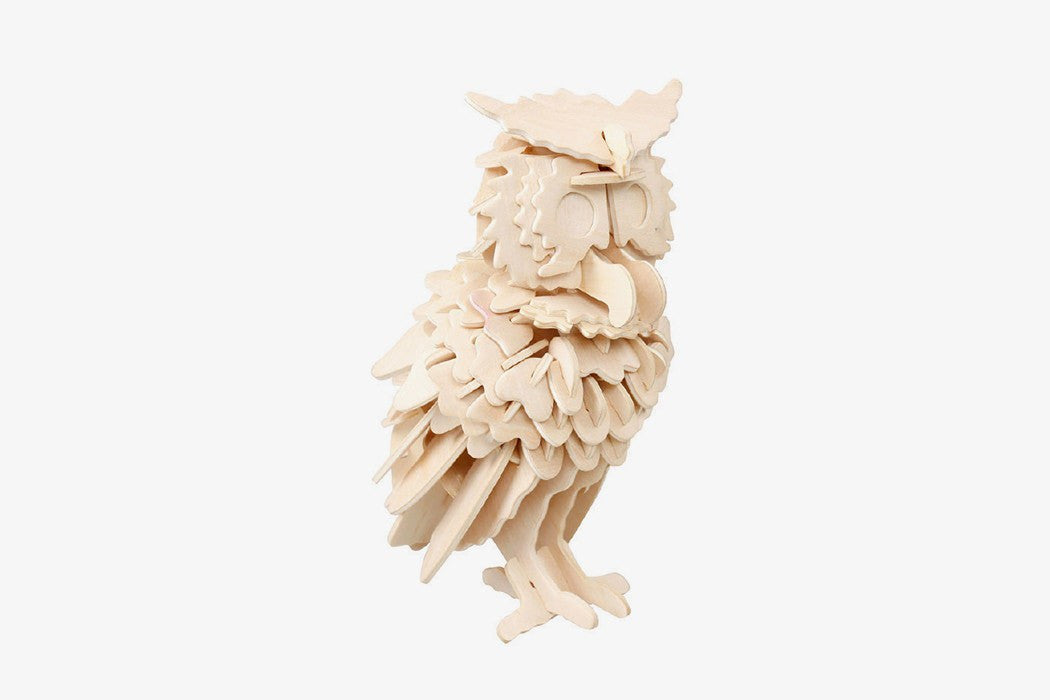 3d owl puzzle instructions