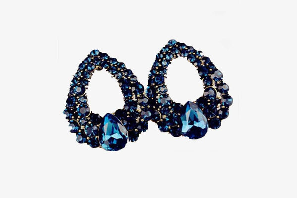 Premium Dark Blue Earrings