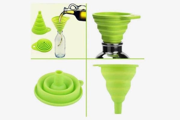Silicone Mini Retractable Funnel