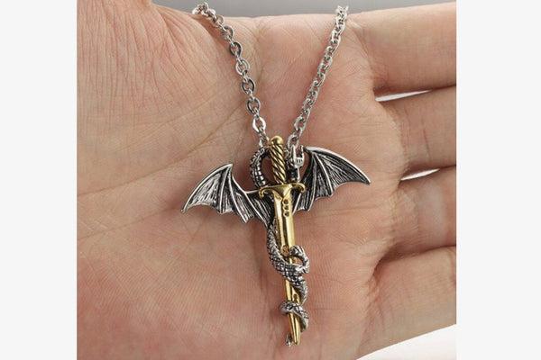 The Legend Of Dragon Sword Pendant